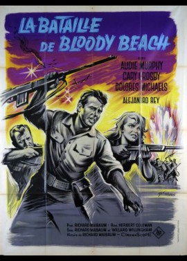 BATTLE AT BLOODY BEACH (LA) movie poster