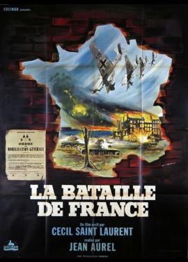 affiche du film BATAILLE DE FRANCE (LA)