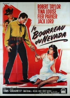 affiche du film BOURREAU DU NEVADA (LE)