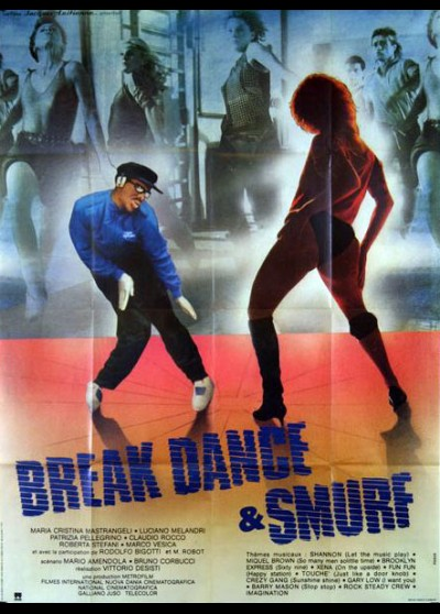 affiche du film BREAK DANCE ET SMURF