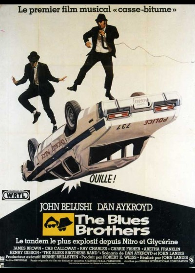 affiche du film BLUES BROTHERS (THE)