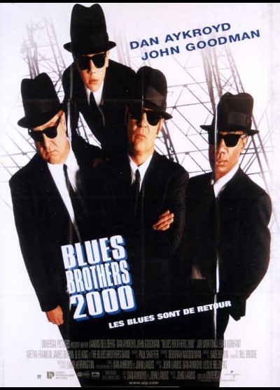 BLUES BROTHERS 2000 (LES) movie poster