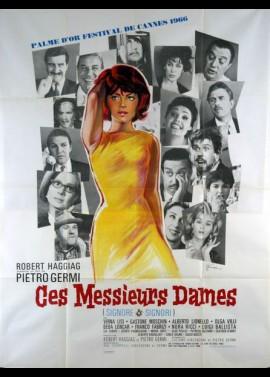 affiche du film CES MESSIEURS DAMES