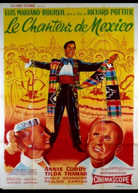 CHANTEUR DE MEXICO (LE) movie poster