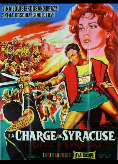 affiche du film CHARGE DE SYRACUSE (LA)
