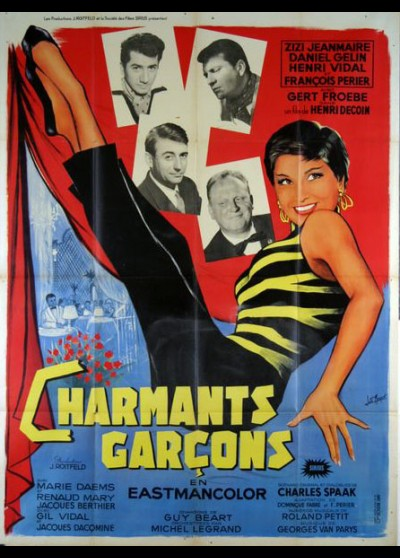 CHARMANTS GARCONS movie poster