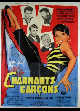 affiche du film CHARMANTS GARCONS