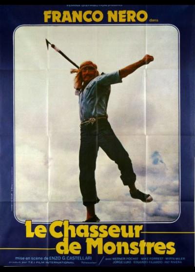 affiche du film CHASSEUR DE MONSTRES (LE)