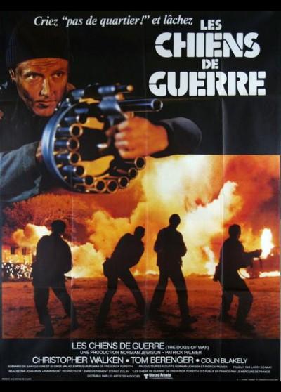 affiche du film CHIENS DE GUERRE (LES)