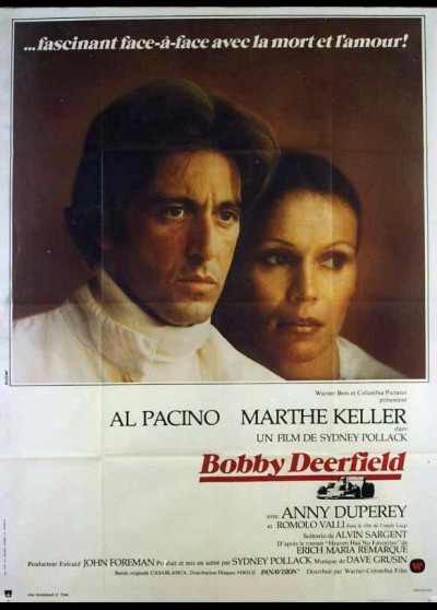 BOBBY DEERFIELD movie poster