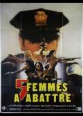 CINQ FEMMES A ABATTRE