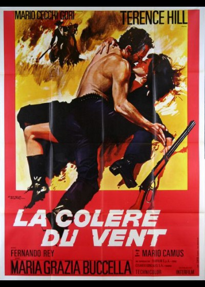 COLLERA DEL VENTO (LA) movie poster