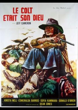 affiche du film COLT ETAIT SON DIEU (LE)