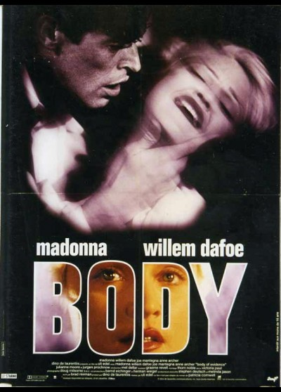 BODY OF EVIDENCE movie poster