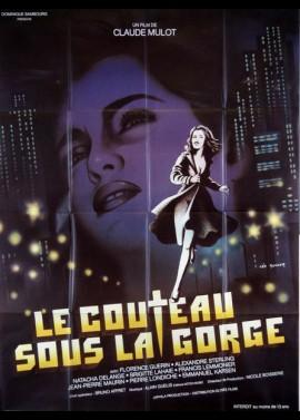 COUTEAU SOUS LA GORGE (LE) movie poster