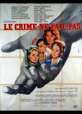 affiche du film CRIME NE PAIE PAS (LE)