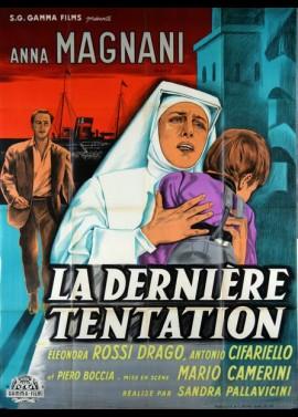 affiche du film DERNIERE TENTATION (LA)