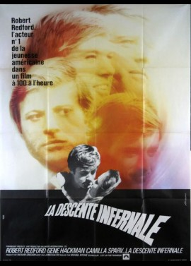 affiche du film DESCENTE INFERNALE (LA)
