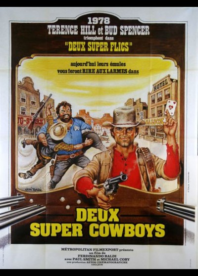 DEUX SUPER COWBOYS movie poster