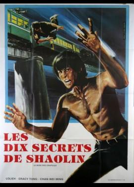 affiche du film DIX SECRETS DE SHAOLIN (LES)