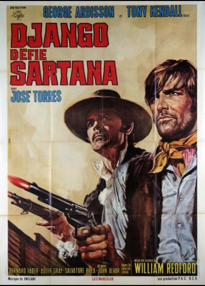 affiche du film DJANGO DEFIE SARTANA