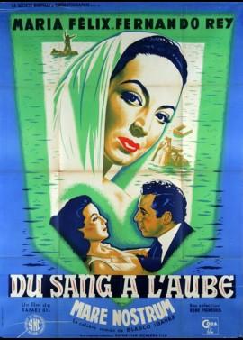 affiche du film DU SANG A L'AUBE