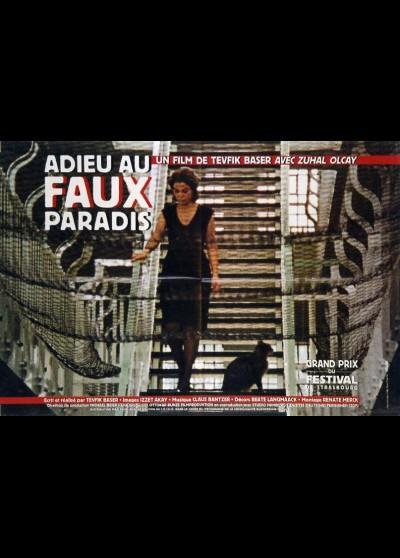 affiche du film ADIEU AU FAUX PARADIS