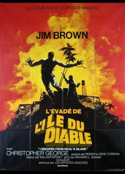 affiche du film EVADE DE L'ILE DU DIABLE (L')
