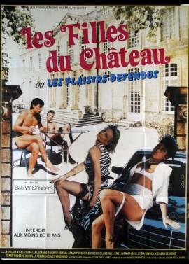 affiche du film FILLES DU CHATEAU (LES)