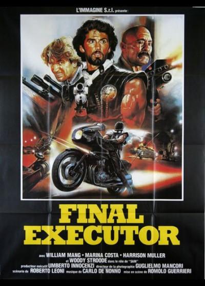 affiche du film FINAL EXECUTOR
