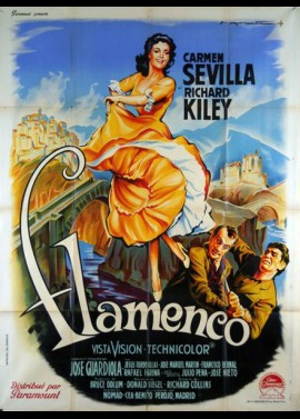 affiche du film FLAMENCO