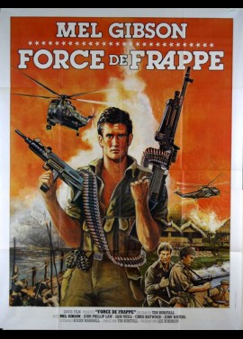 ATTACK FORCE Z movie poster