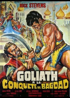 affiche du film GOLIATH A LA CONQUETE DE BAGDAD
