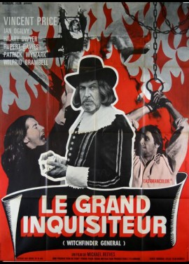 WITCHFINDER GENERAL movie poster