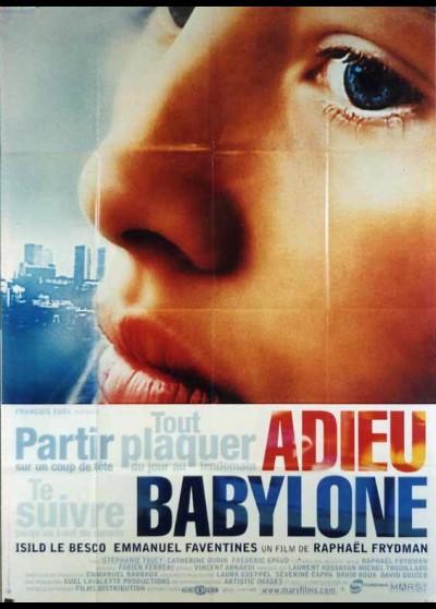 affiche du film ADIEU BABYLONE