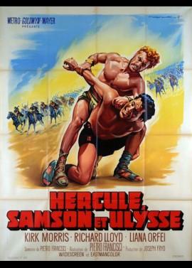 ERCOLE SFIDA SANSONE movie poster