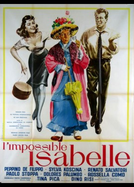 affiche du film IMPOSSIBLE ISABELLE