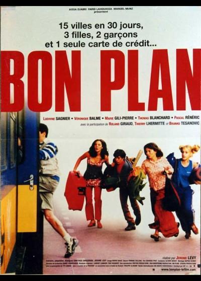 affiche du film BON PLAN