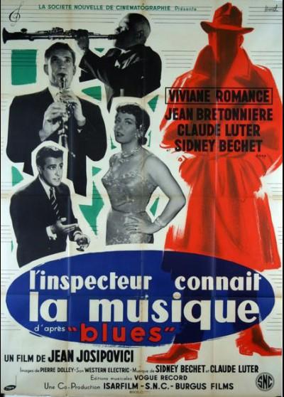 affiche du film INSPECTEUR CONNAIT LA MUSIQUE (L')