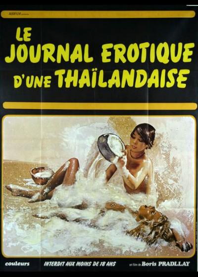affiche du film JOURNAL EROTIQUE D'UNE THAILANDAISE (LE)