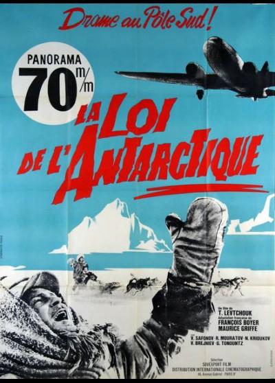 affiche du film LOI DE L'ANTARCTIQUE (LA)