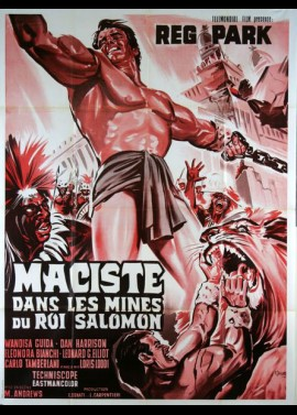 MACISTE NELLE MINIERE DI RE SALOMONE movie poster