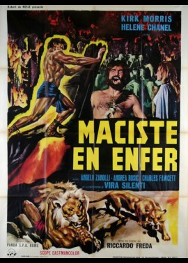 MACISTE ALL' INFERNO movie poster