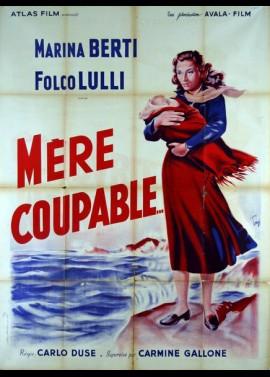 affiche du film MERE COUPABLE
