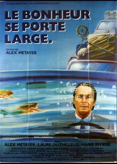 affiche du film BONHEUR SE PORTE LARGE (LE)