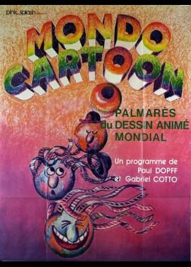 affiche du film MONDO CARTOON