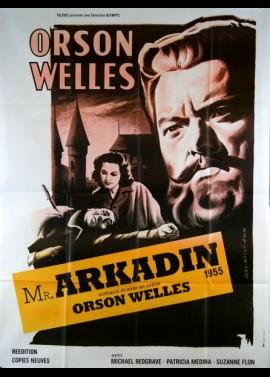 affiche du film MONSIEUR ARKADIN / DOSSIER SECRET