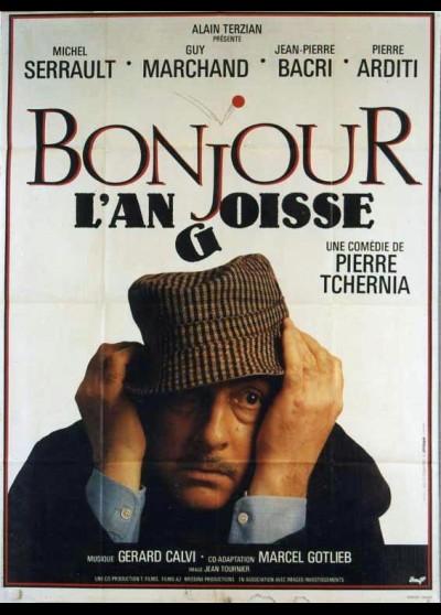 affiche du film BONJOUR L'ANGOISSE