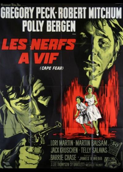 affiche du film NERFS A VIF (LES)