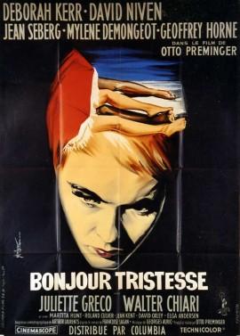 affiche du film BONJOUR TRISTESSE